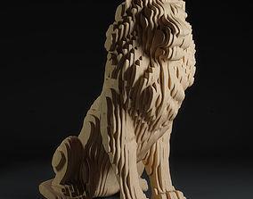 3D parametric lion