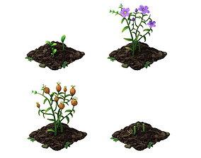flax field 3D
