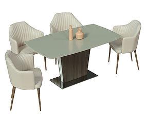 Dining group Italgruppo 3D model