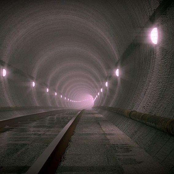 Undergorund Subway Scene