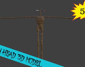 Siren Head 3D MODEL realtime