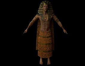 Pharaoh Entity rigged and animated 3D asset