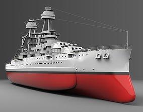 3D Watercraft 1 - USS Arizona navigation