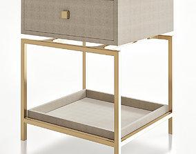 Side Tables - Handmade Bedside 3d model low-poly