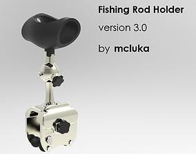 3D model Fishing Rod Holder version 30