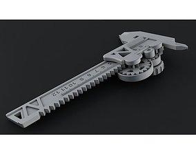 3D print model Metric Caliper Steampunk