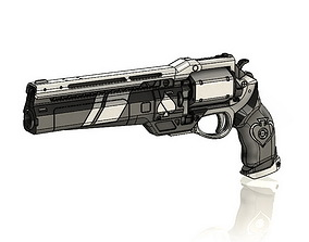 3D print model Ace of Spades Exotic Hand Cannon Destiny