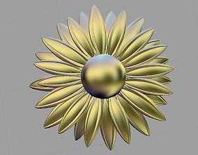 3D print model chamomile