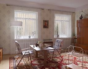 USSR interior 3D model
