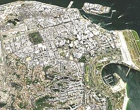 3D model Cityscape Rio de Janeiro Brazil