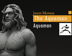 jason Momoa - The Aquaman - Arthur 3D printable model 2