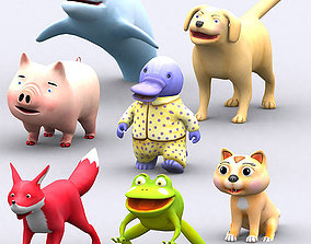 3DRT - Toonpets Animals animated