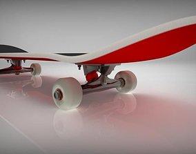 Skateboard 8inch 3D printable model