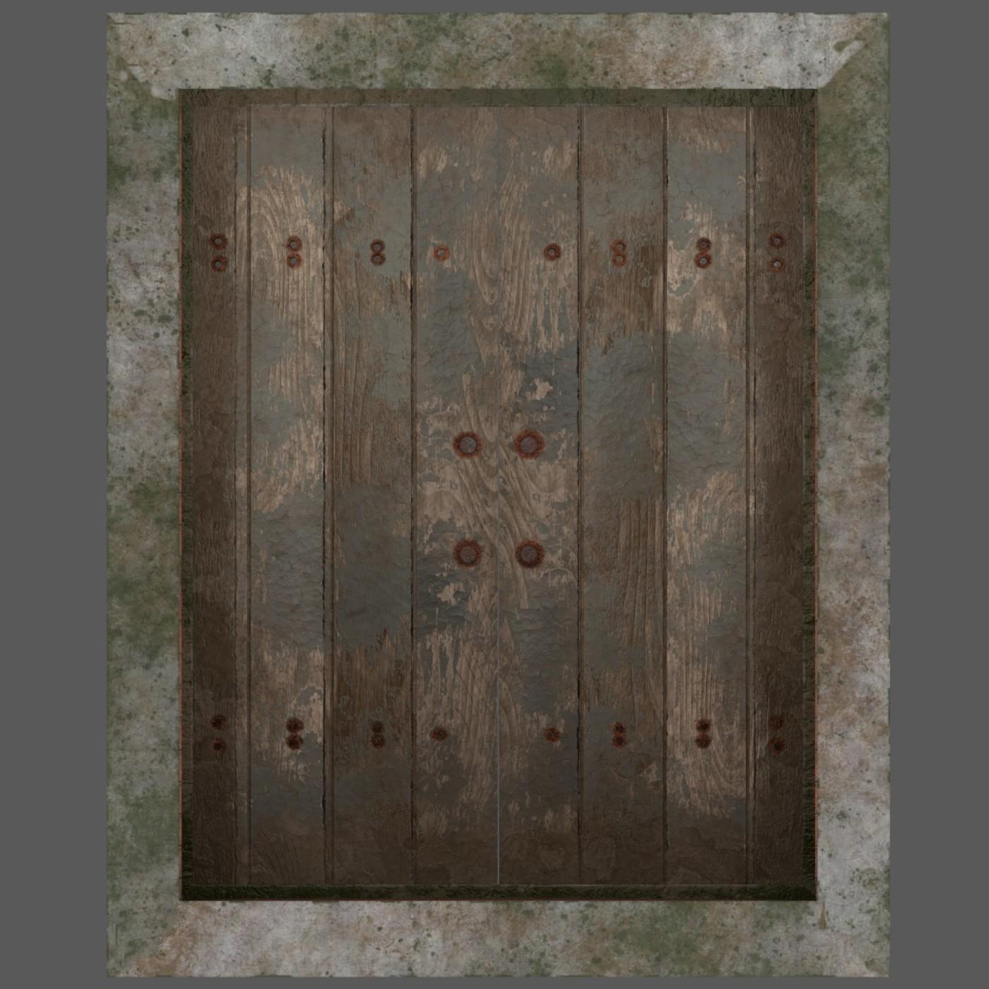 Cellar and Basement Entrance