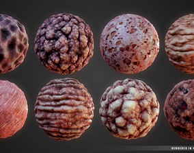 3D model Stylized Organs Material Pack