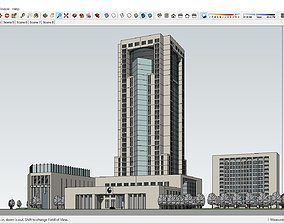 Sketchup 192 - Office tower 3D