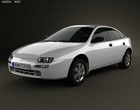 Mazda 323 Familia 1994 3D model