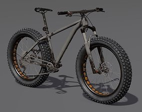 Mountain Bike 3D model bicycle wheel