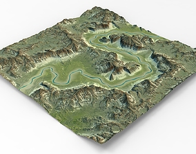 3D model Canyon MTH114