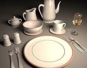Dinner Ware 3D