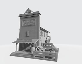 3D printable model Wild west hardware