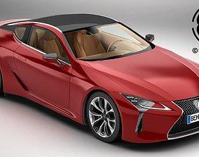 Lexus LC 500 US 2018 3D