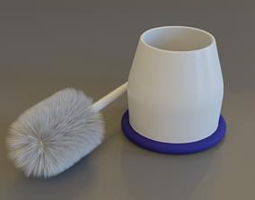 Toilet Brush 3D utensil