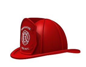 3D Fireman helmet