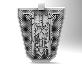 3D printable model Viking pendant 8