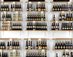 3D Wine showcase