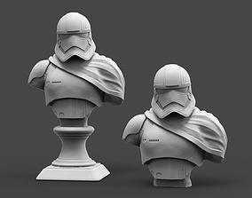 3D printable model starwars Captain P Bust Fan Art