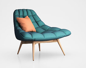 Kolton Accent Armchair by Made 3D model