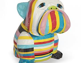 Bulldog Sculpture 3D