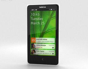 Nokia X White 3D