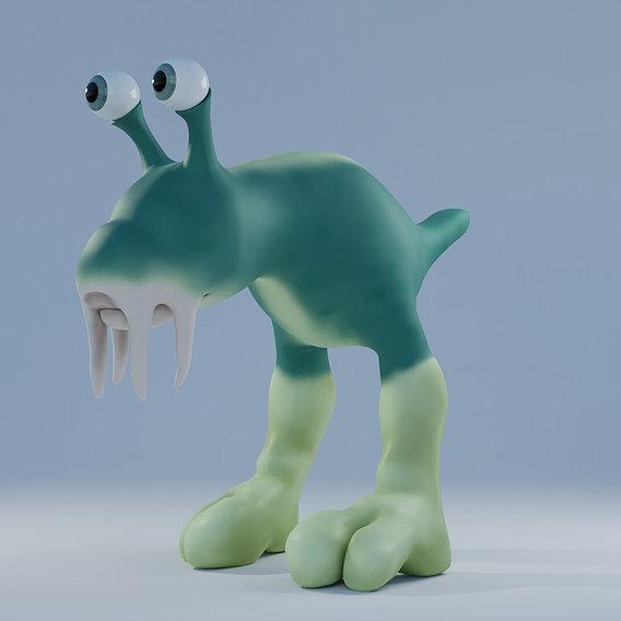 Creature modeling - Sloop
