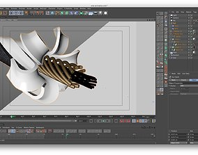 3D model Wire animation