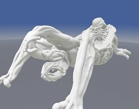 HR Giger inspired Alien Xenomorph Bathtub 3D model