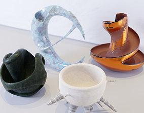 Vases 3D asset realtime