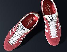 3D Adidas Gazelle Vintage Shoes