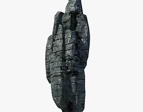 3D asset Rocky Cliff