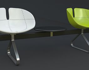 technology Fjord Bench Two Sistema Iray piu 3ds max