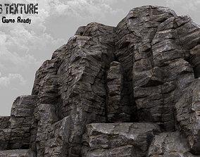 3D model realtime Rock Mountain
