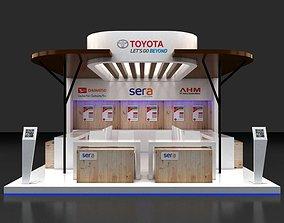 3D Booth Design 6x6m