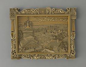 Slavic village 3D print model