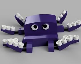 Octopus smartphone stand 3D print model