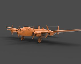 3D printable model Avro Lancaster