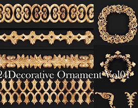 Decorative ornament vol 01 3D