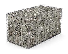 3D model Gabion Basket