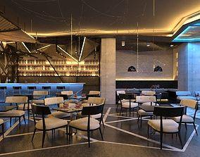 Restaurant Interior 3D