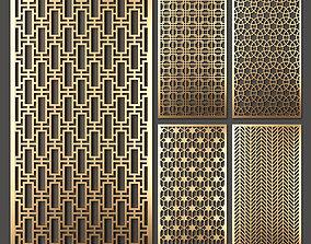 Decorative panel set 37 3D